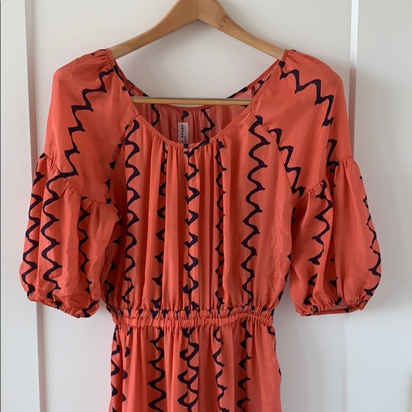 Apiece Apart Dresses & Skirts - Apiece Apart off the shoulder maxi dress